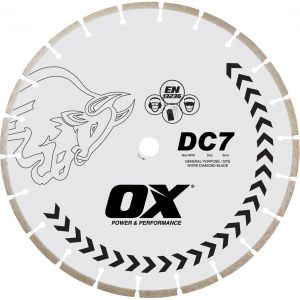 Image for OX DC7 Standard Seg. Gen. Purpose Diamond Blade
