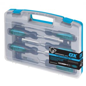 Image for OX Professional 5pce Wood Chisel Set