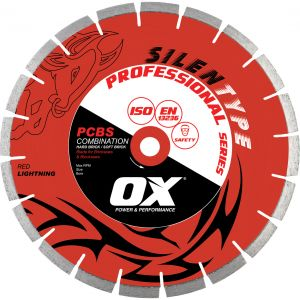 Image for OX Professional PCBS Silent Diamond Blade - 50/50 Combination