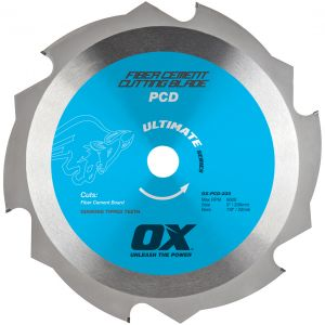 Image for OX Professional PCD Fibre Cement Blade