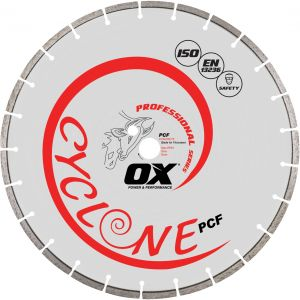 Image for OX Professional PCF Floor Saw Diamond Blade - General Purpose / Concrete