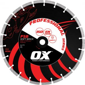Image for OX Professional PSB Bench Saw Diamond Blade - Soft