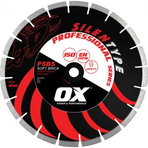 Image for OX Professional PSBS Silent Diamond Blade - Soft Brick