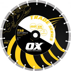 Image for OX Trade TSB Bench Saw Diamond Blade - Soft