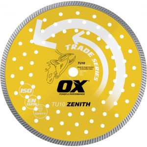 Image for OX Trade Turbo Diamond Blade - Universal/Hard