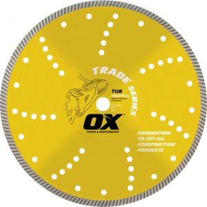 Image for OX Trade TUB Bench Saw Diamond Blade - Universal