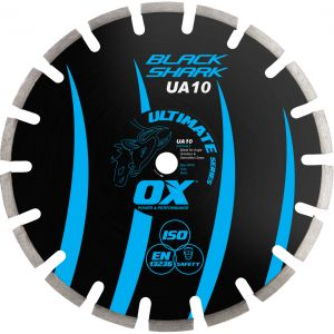 Image for OX Ultimate UA10 Black Shark Turbo Diamond Blade - Asphalt