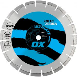 Image for OX Ultimate UB10 Turbo Diamond Blade - Abrasive