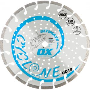 Image for OX Ultimate UC10 Turbo Diamond Blade - General Purpose / Concrete