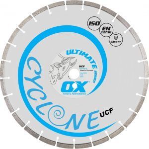 Image for OX Ultimate UCF Floor Saw Diamond Blade - General Purpose / Concrete